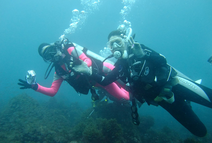 色々なダイビングを経験して、世界中の海を楽しもう!